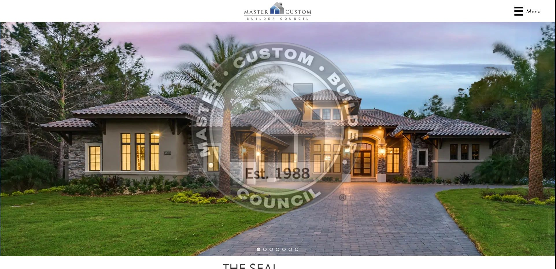 After redesign Photo of Master Custom Builder Council Project